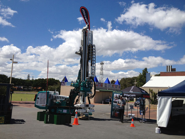 Grand Steel Piling attended Western Australian Mining Exhibition in Australia