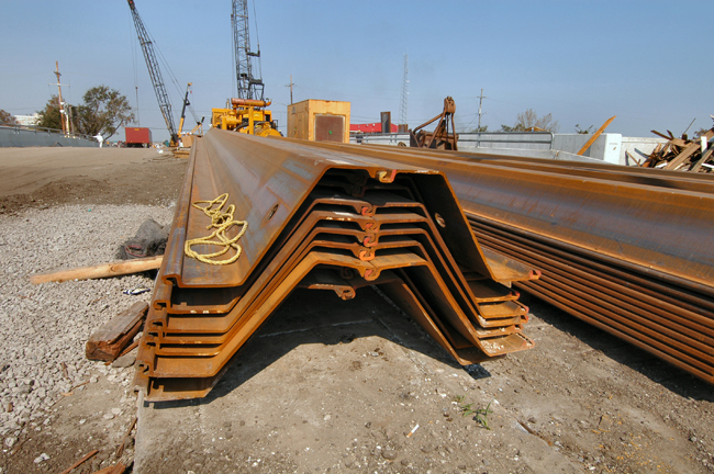 The advantages of steel sheet piling