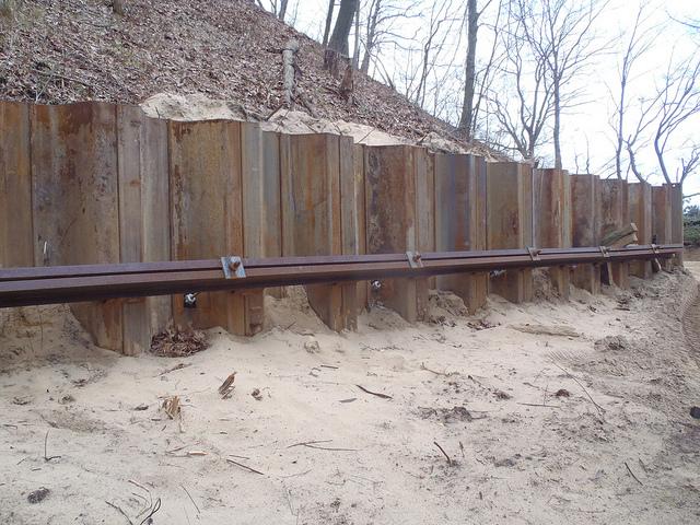 Sheet Pile Retaining Wall Design