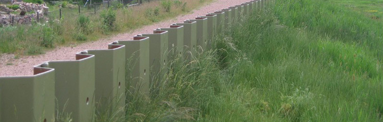 Cold-rolled sheet pile sections