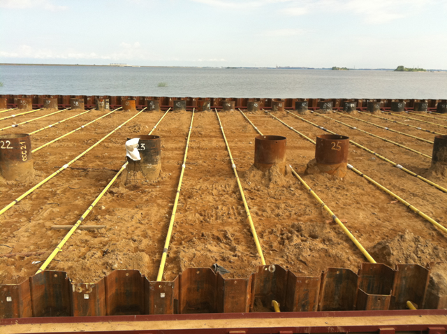 LATERAL PRESSURES ON SHEET PILE