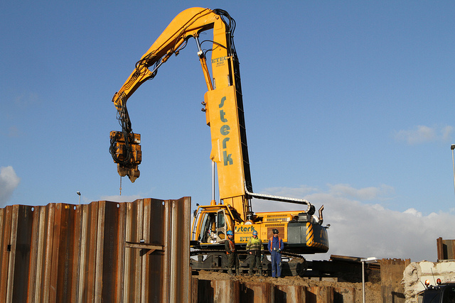 Pile driving equipment-Sheet Pile
