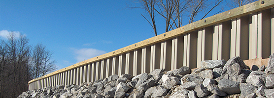 Synthetic Flood Walls Offer Protection
