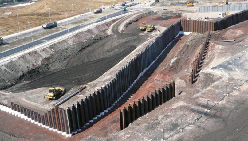 Sheet piles, advantages of below grade foundations