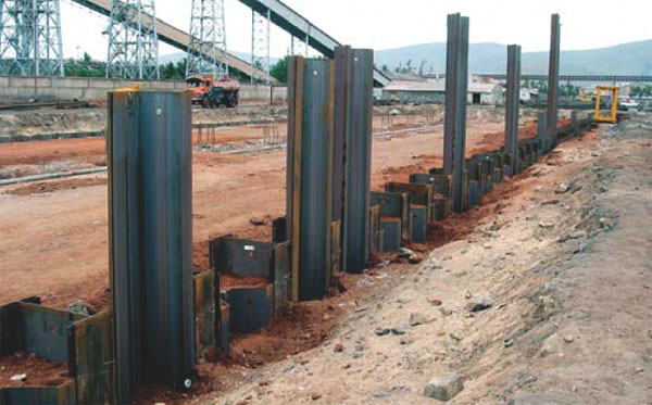 Moment Reduction For Anchored Sheet Pile Walls