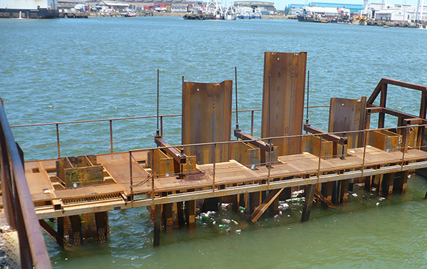 Sheet pile in marine applications