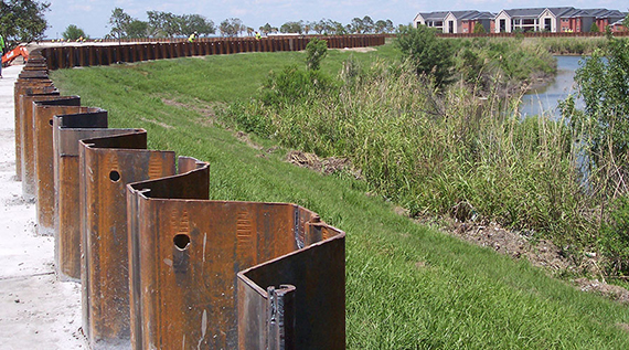 Sheet piling and its applications