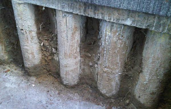 Basement Construction & Sheet Piles Retaining Walls