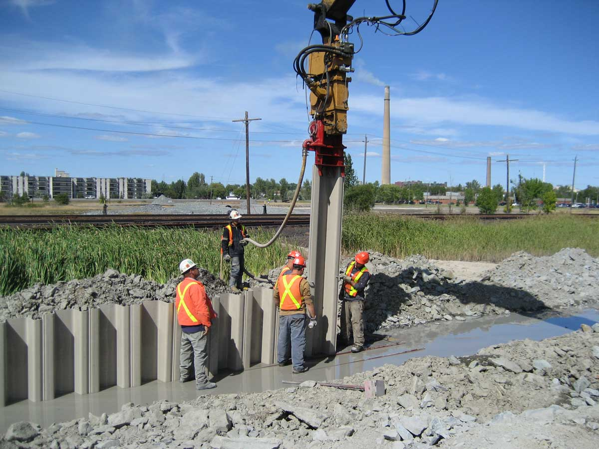 Performance of Sheet Pile Wall in Peat