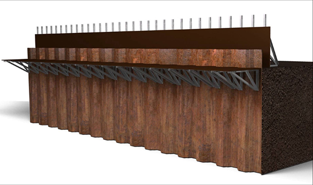 Sheet Pile Formwork System