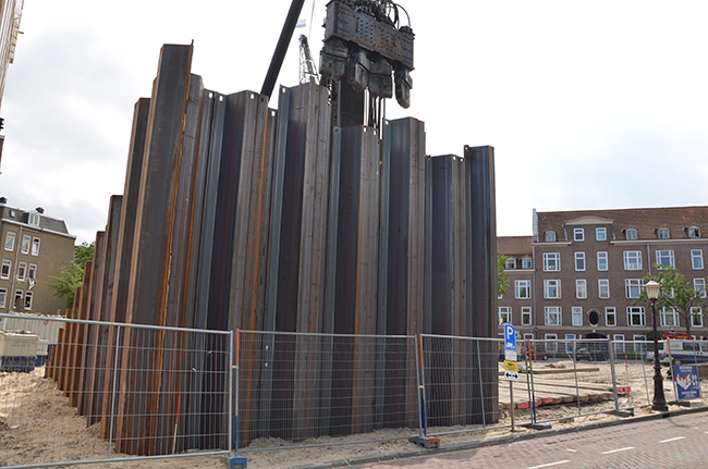 Sheet pile installation techniques