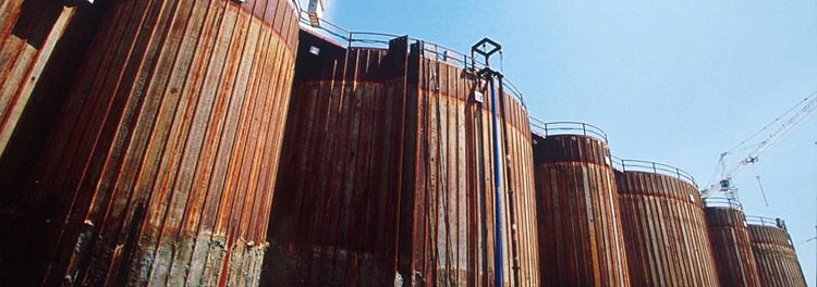 Sheet Piling Walls Cofferdams