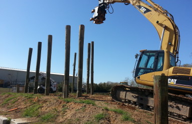 More and more sheet piles are being used
