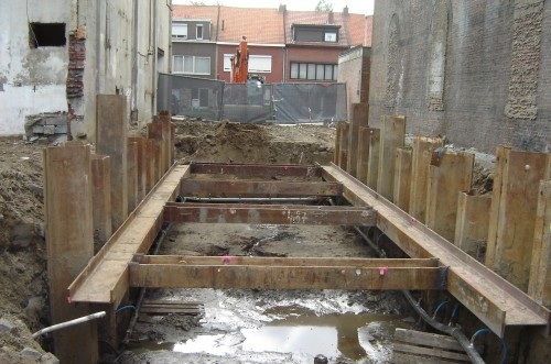 Sheet Piling Used as Permanent Foundation and Retention Systems