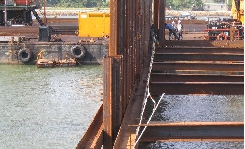 Limit States and Factor of Safety in Design of an Anchored Sheet Pile Wall
