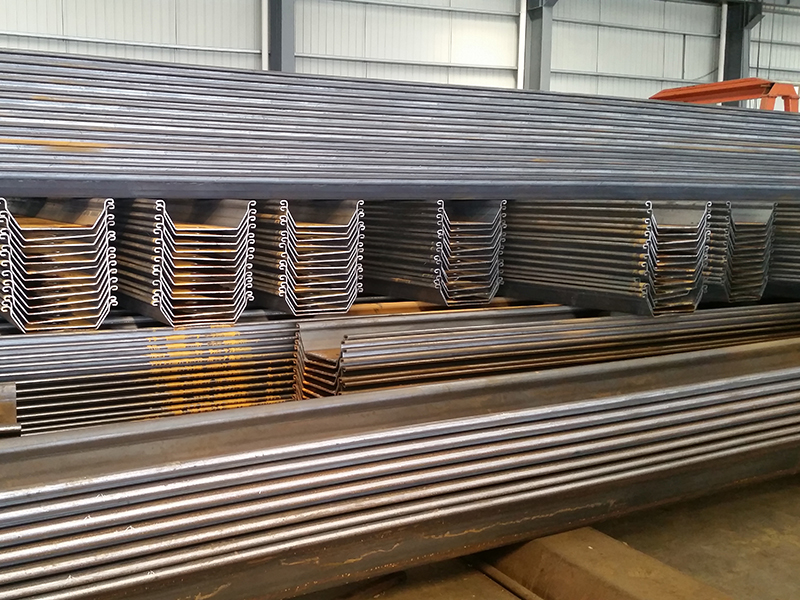 80,000 tons sheet piles in stock for immediate delivery.