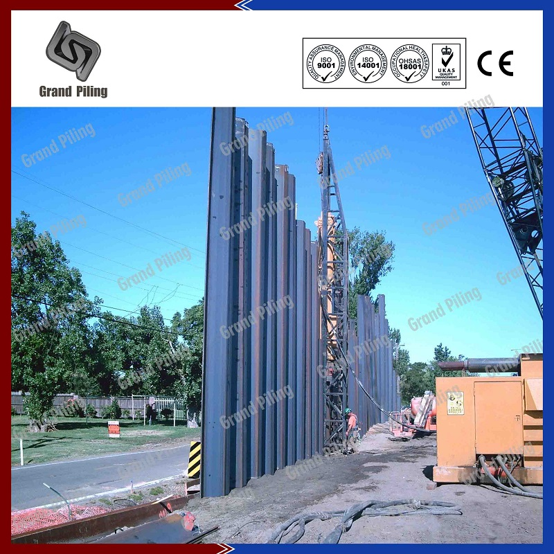 Cold Rolled Sheet Pile Projects