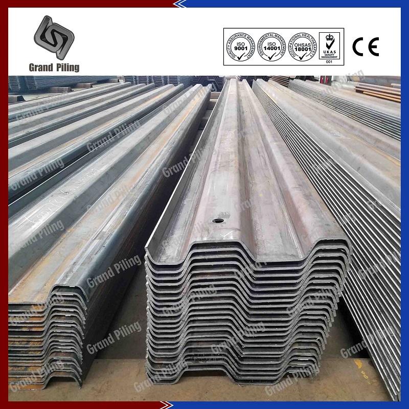 Steel Sheet Pile China Sheet Piling Trench Sheets