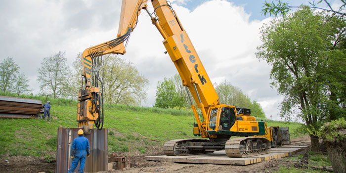 Sheet Piles Hammers for Excavator