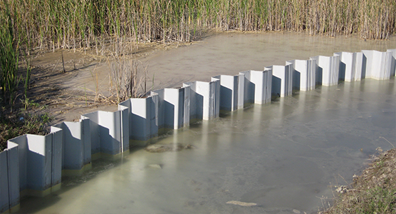 Design Cut Off and Containment Sheet Pile Walls