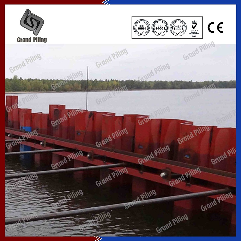 Sheet Pile Accessories  Projects