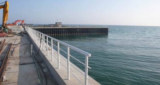Behavior of Breakwater Foundation Reinforced with sheet pile Under Seismic Loading