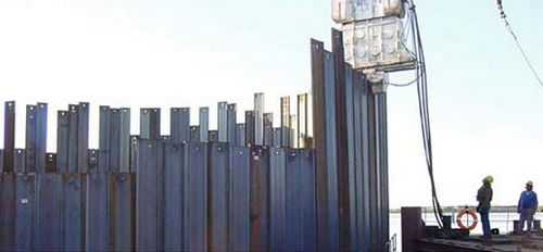 Metal sheet piles - All architecture