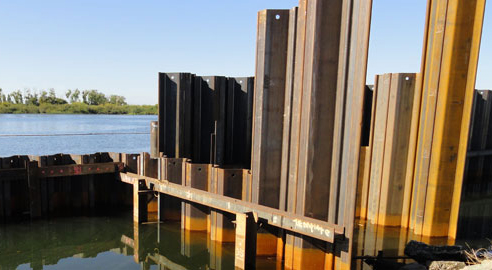 Types of Sheet Piling and Project Considerations