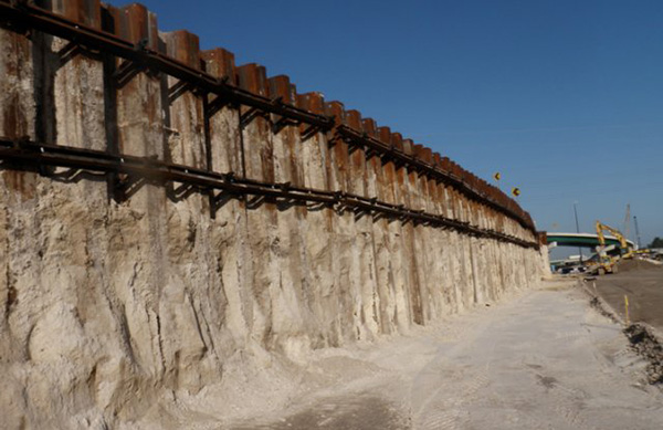 Interlocking Sheet Pile Retention Systems