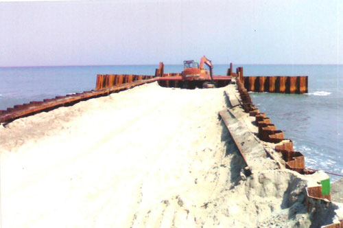 Automatic Design System for a Steel Sheet Pile Cellular Cofferdam