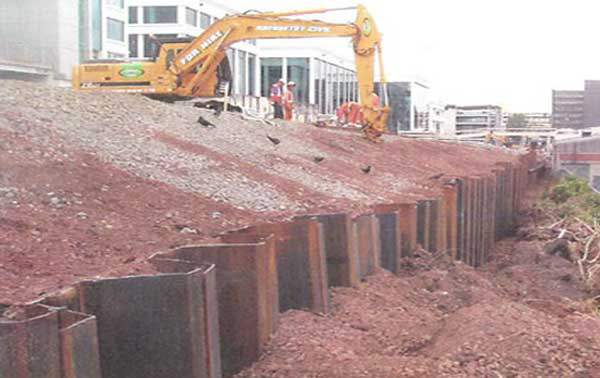 A numerical study of anchored sheet piles subjected to different types of sandy soils   backfill