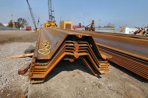 Technical details of sheet piles