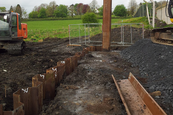 Uses of sheet piles