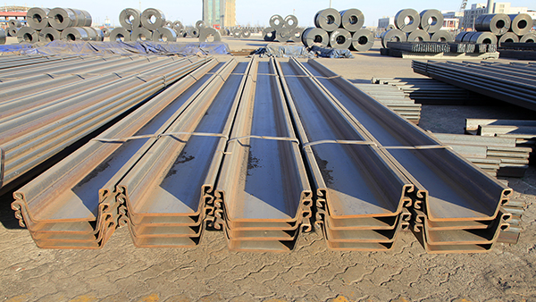 Steel Sheet Pile Used as Permanent Foundation and Retention Systems