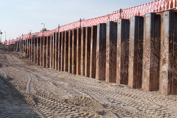 Steel Sheet Pile Applications