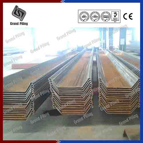 U Types Sheet Piles