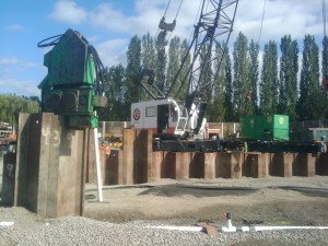 Sheet Piles - Installation and removal