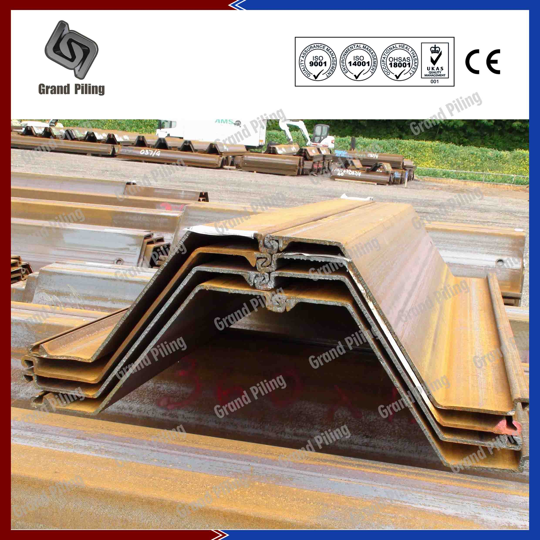 Sheet Pile Corner Sections Clutch Bars Corner Piles