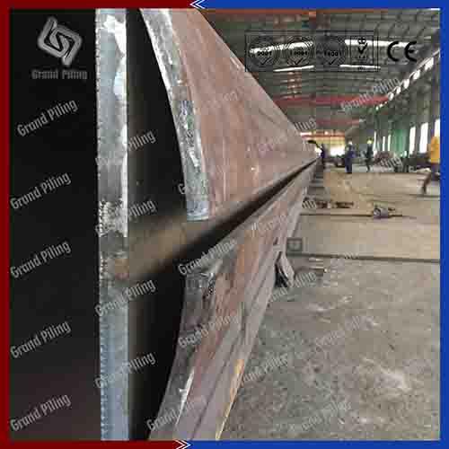 Tubular Pile, pipe piles, steel piles, tubular pipes - deep